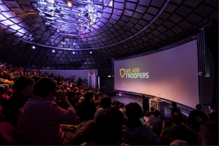 image - ERP-SEC present at #Troopers10