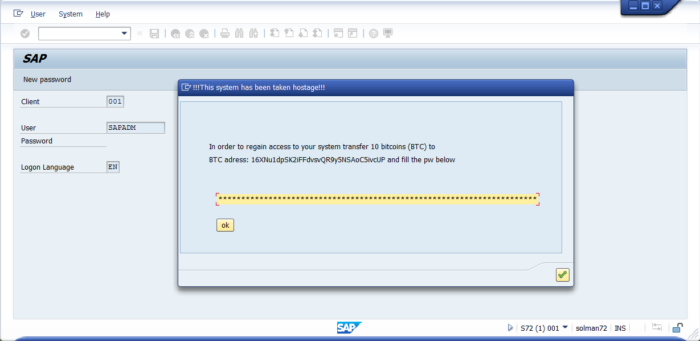 image - Can SAP systems be ransomed?