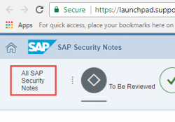 Can SAP Security Notes be used for creating exploits