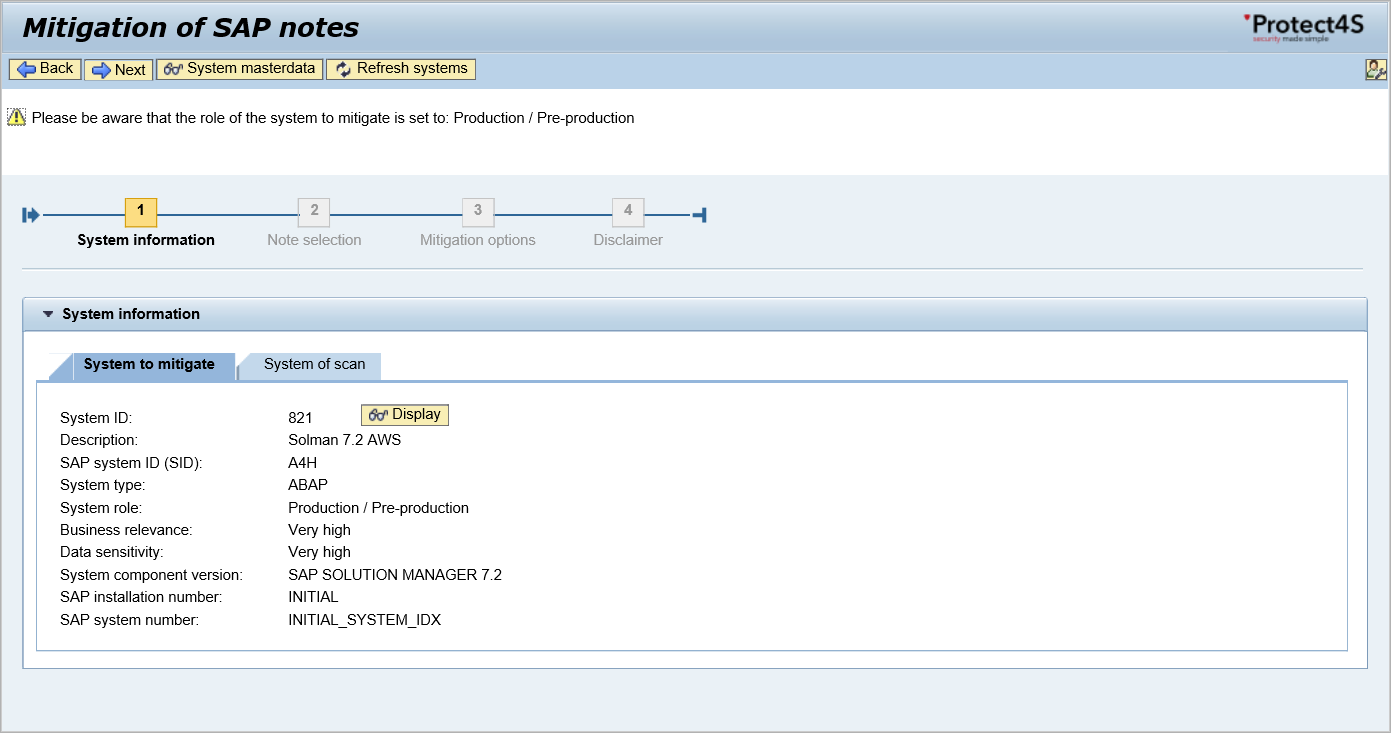 protect4s Mitigation_of_SAP_Notes_2