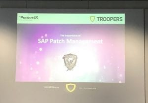 image - SAP Security track Troopers#18 re-cap