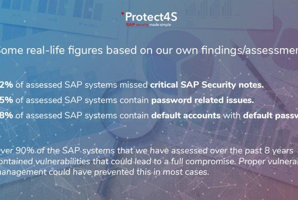 sap security real life figures