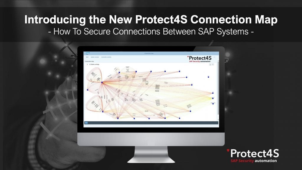 Protect4S Connection Map, SAP Systems
