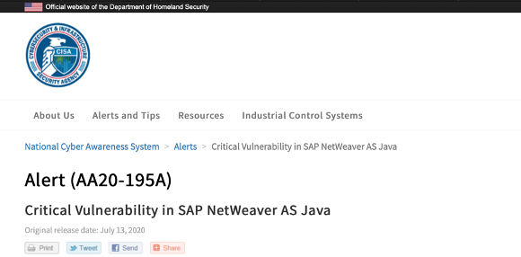 image - SAP Java Stacks In Your Landscape? Now Is The Time To Patch