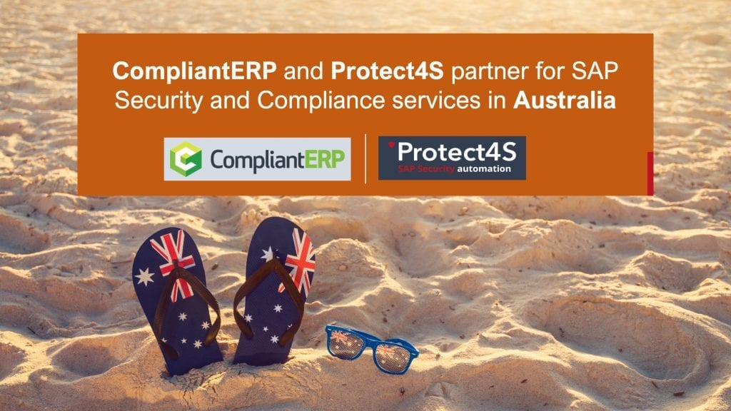 CompliantERP, Protect4S, Partnership, SAP Security