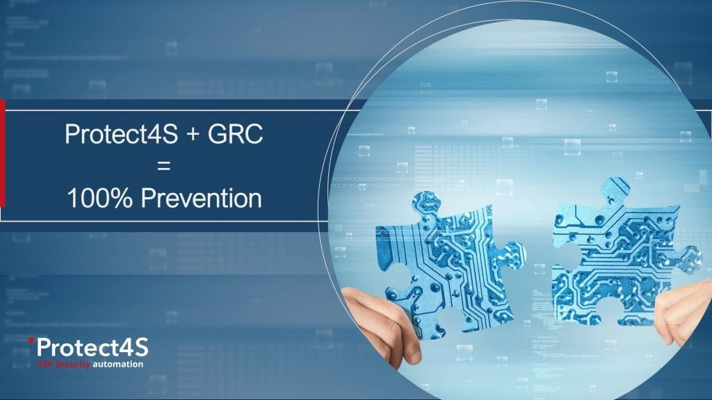 SAP Security, Protect4S + GRC = 100% Prevention