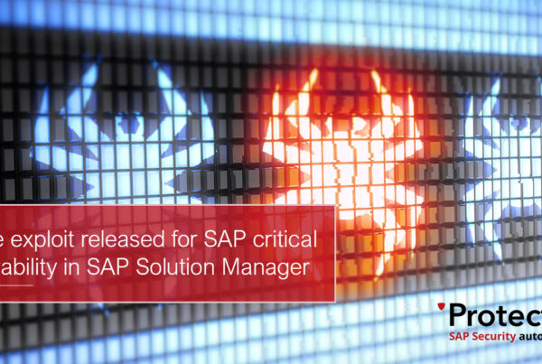 Online exploit released for SAP critical vulnerability in SAP Solution Manager