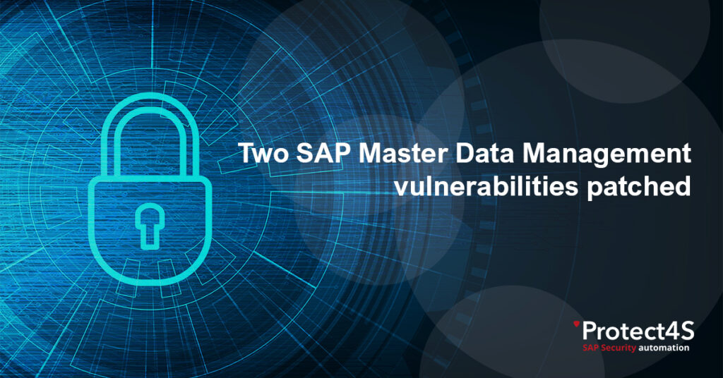 SAP Master Data Management