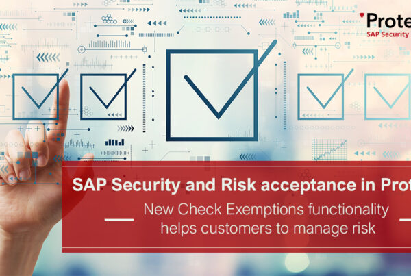 SAP Security Check Exemptions
