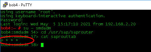 SAP Router Risk Level