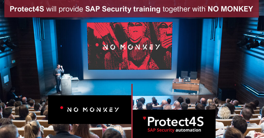 Protect4S provide SAP Security training with NO MONKEY