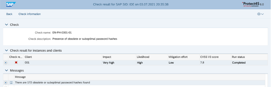 3-SAP Password hashes-insecure passwords
